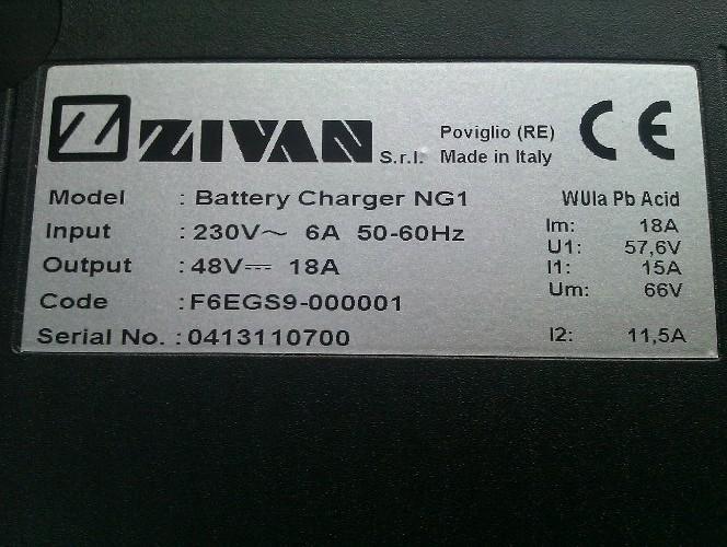 zivan ng1 golfbils lader elbilslader  ladeteknik og batterier