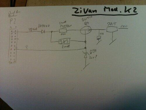 zivan mod k2 Lader diagram  ladeteknik og batterier