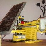 solartracker med actuator – model