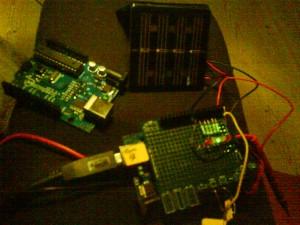 soltracker med solceller