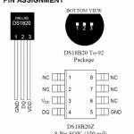 arduino temperatur måling med dallas ds18b20