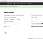 emonBase ok raspberry pi