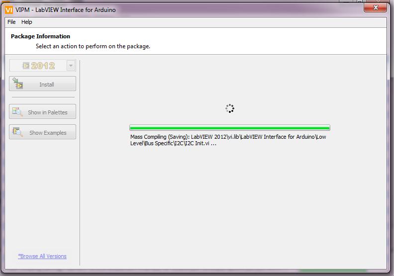 Labview vi packages installation wait techmind beta
