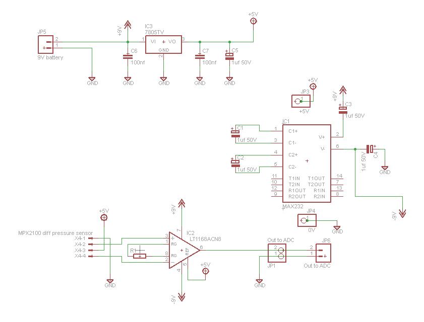 mxp2100_diff_pressure_amplifier_schematic