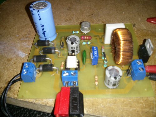 Power Supply 1,8 – 37 Volt 20 ampere med lm317